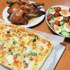 ホームベーカリー ピザ 生地 パナソニック かんたんピザを作ってみた【ブログ】
